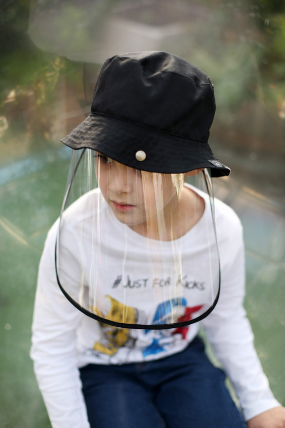 Kids' One-piece Hat & Shield