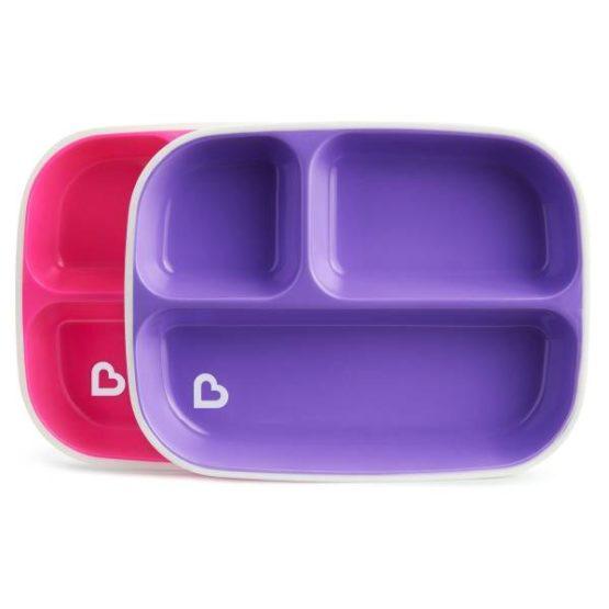 Munchkin Splash™ Toddler Divided Plates