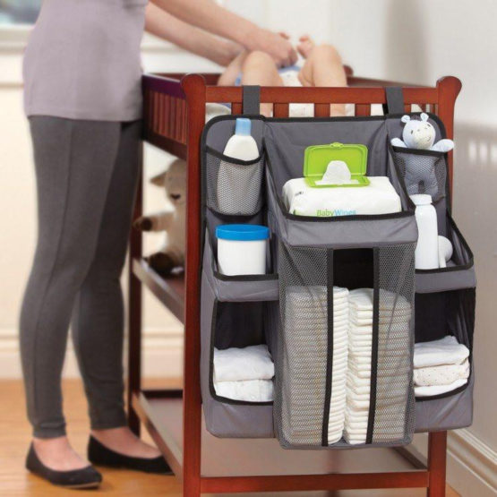 Snuggletime Travel Hanging Nursery Organiser