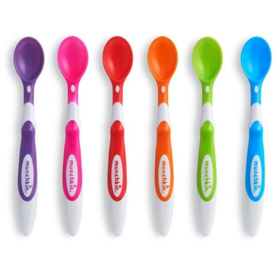 MUNCHKIN Soft Tip Infant Spoon – 6 Pack