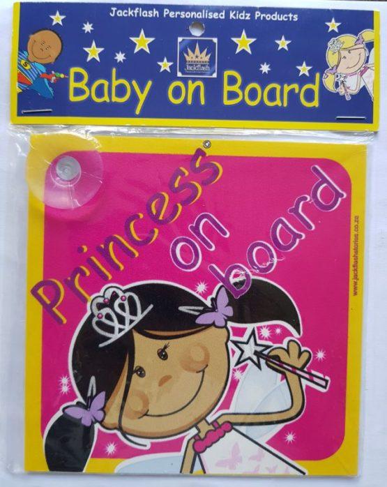 Baby on Board Sign – Princess